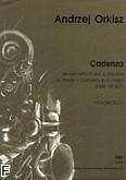 Okładka: Orkisz Andrzej, Cadenza do koncertu C-dur J.Haydna