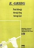 Okładka: Grieg Edward, Pieśń Solwejgi