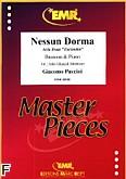 Okładka: Puccini Giacomo, Nessun Dorma aria form Turandot