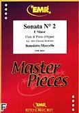 Ok�adka: Marcello Benedetto, Sonata nr 2 e-moll