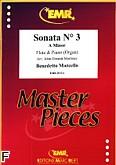 Okładka: Marcello Benedetto, Sonata nr 3 a-moll