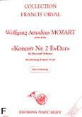 Okładka: Mozart Wolfgang Amadeusz, Konzert Nr. 2, Es-Dur, K. 417 (Orval)