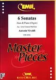Okładka: Vivaldi Antonio, 6 Sonatas