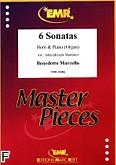 Okładka: Marcello Benedetto, 6 Sonatas