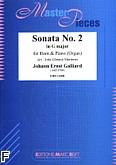 Okładka: Galliard Johann Ernst, Sonata nr 2 In G Major
