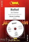 Okładka: Armitage Dennis, Ballads for Clarinet and Piano or CD