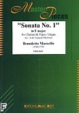 Ok�adka: Marcello Benedetto, Sonata nr 1 In F Major
