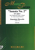 Ok�adka: Marcello Benedetto, Sonata nr 2 In E Minor
