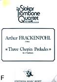 Okładka: Frackenpohl Arthur, 3 Chopin Preludes