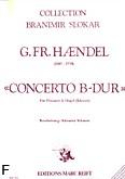 Okładka: Händel George Friedrich, Concerto B-dur (arr.Schnorr)