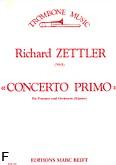 Okładka: Zettler Richard, Concerto Primo