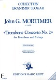 Okładka: Mortimer John Glenesk, Trombone Concerto nr 2