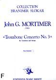 Okładka: Mortimer John Glenesk, Trombone Concerto nr 3