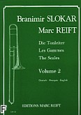 Okładka: Slokar Branimir, Reift Marc, Tonleitern / Gammes / Scales Vol. 2