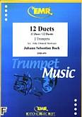 Okładka: Bach Johann Sebastian, 12 Duets
