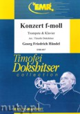 Okładka: Händel George Friedrich, Konzert f-moll (partytura + głosy)