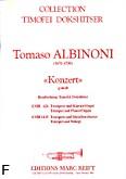 Okładka: Albinoni Tomaso, Konzert g-moll (Dokshitser)