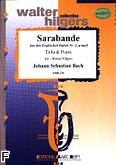 Ok�adka: Bach Johann Sebastian, Sarabande Englischen Suite nr 2