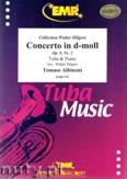 Okładka: Albinoni Tomaso, Concerto in d-moll Op. 9, Nr. 2