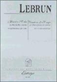 Okładka: Lebrun Ludwig August, Koncert nr 2 C-dur na obój lub flet i fortepian
