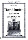 Okładka: Pucek Zdzisław, Rondinetto na organy