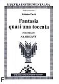 Okładka: Pucek Zdzisław, Fantasia quasi una toccata