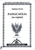 Okładka: Pucek Zdzisław, Passacaglia na organy