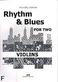 Okładka: Jasinski Richard, Rhythm & Blues for two violins