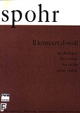 Okładka: Spohr Louis, II koncert d-moll op. 2 na skrzypce i fortepian