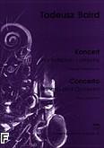 Okładka: Baird Tadeusz, Koncert na fortepian i orkiestrę (wyciąg fortepianowy)