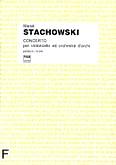 Okładka: Stachowski Marek, Concerto per violoncello ed orchestra d'archi