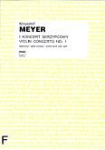 Okładka: Meyer Krzysztof, I Koncert skrzypcowy