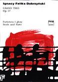 Ok�adka: Dobrzy�ski Ignacy Feliks, Grand trio a-moll op. 17 (partytura + g�osy)
