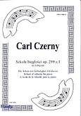 Okładka: Czerny Carl, Szkoła biegłości na fortepian, op. 299 z. 1