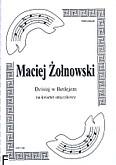 Okładka: Żołnowski Maciej, Dzisiaj w Betlejem na kwartet smyczkowy