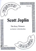 Okładka: Joplin Scott, The Easy Winners (score + parts)
