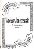 Okładka: Janiszewski Wacław, Ja nie narzekam na chór SSAATTBB i gitarę