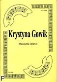 Okładka: Gowik Krystyna, Maluszek śpiewa