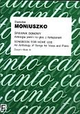 Okładka: Moniuszko Stanisław, Śpiewnik domowy. Antologia pieśni na głos z fortepianem z.3