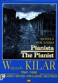 Okładka: Kilar Wojciech, Pianista na klarnet i smyczki (partytura + głosy)