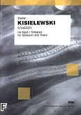 Okładka: Kisielewski Stefan, Scherzo for Bassoon and Piano