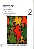 Ok�adka: Korn Krzysztof, Pory roku, piosenki dla dzieci z.2