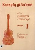 Ok�adka: Prokocki Kazimierz, Zeszyty gitarowe, z.1