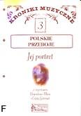 Ok�adka: Nahorny W�odzimierz, Kroniki muzyczne z. 3 -Jej portret