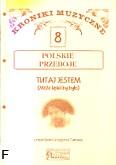 Okładka: Turnau Grzegorz, Kroniki muzyczne z.8 -Tutaj jestem (Może lepiej by było)