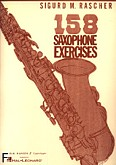 Okładka: Rascher Siguard, 158 Saxophone Exercises for Alto Sax
