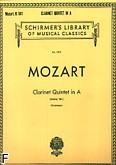 Okładka: Mozart Wolfgang Amadeusz, Clarinet Quintet In A, K.581 (parts)