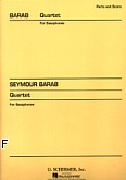 Okładka: Barab Seymour, Quartet For Saxophones