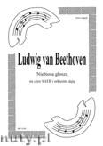 Okładka: Beethoven Ludwig van, Niebiosa głoszą op.48 nr 4 na chór i orkiestrę dętą (ar. Janiszewski) (partytura + głosy)