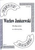 Okładka: Janiszewski Wacław, Rozłączenie na orkiestrę dętą mieszaną (partytura + głosy)